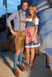 Dustin Johnson and Paulina Gretzky