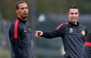Rio Ferdinand & Robin Van Persie
