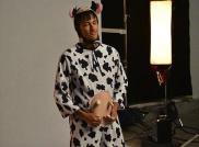 Neymar as a cow