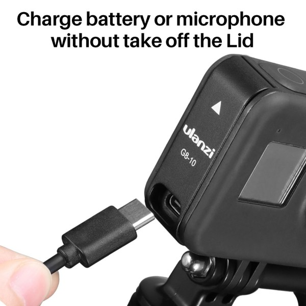 Ulanzi-G8-10-Plastic-Battery-Cover-Removable-Type-C-Charging-Port-Adapter-for-GoPro-Hero-Black-india-tiyana