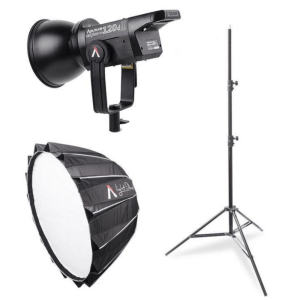 Cinematic Live Youtuber Light Kit - Aputure 120d II + Dome II + Light Stand