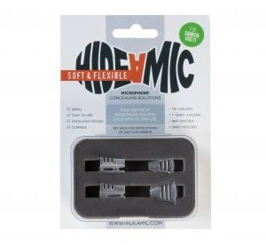 Hide-A-Mic Sanken COS11 Soft and Flexible clips