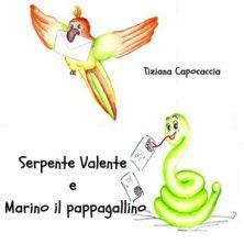 serpente e pappagallino disegnati