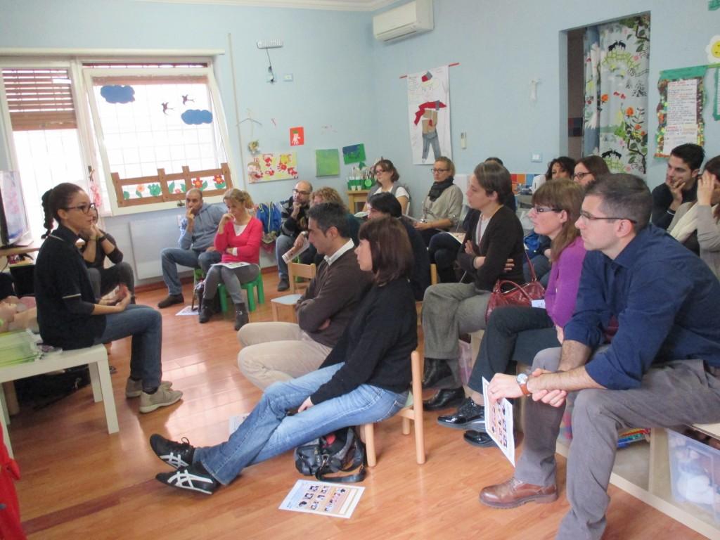 Corso Disostruzione Pediatrica presso Micronido i Mirtilli rossi