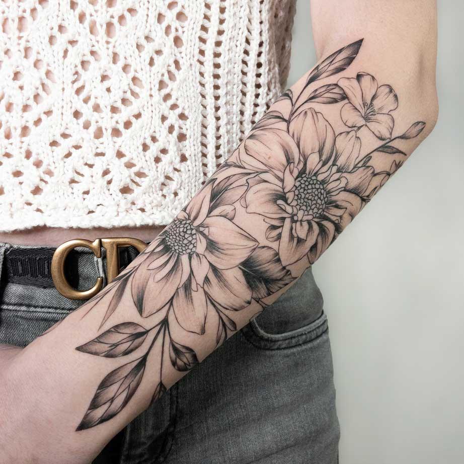 tattoo-bras-fleur-france