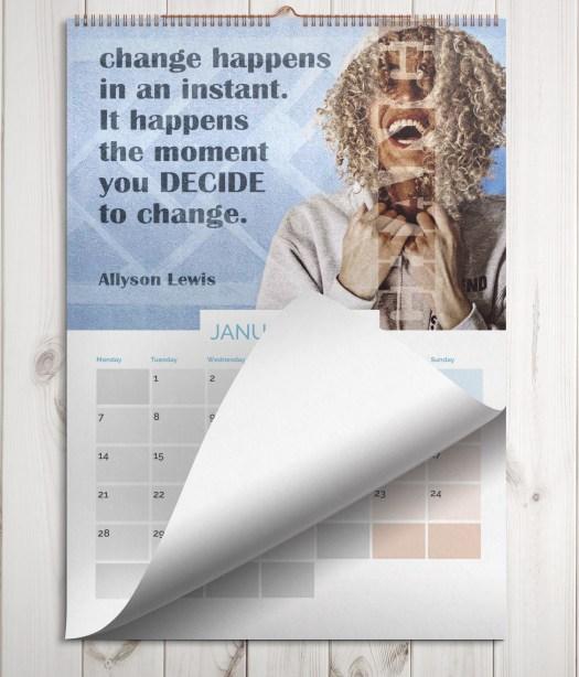 calendar spiral bound