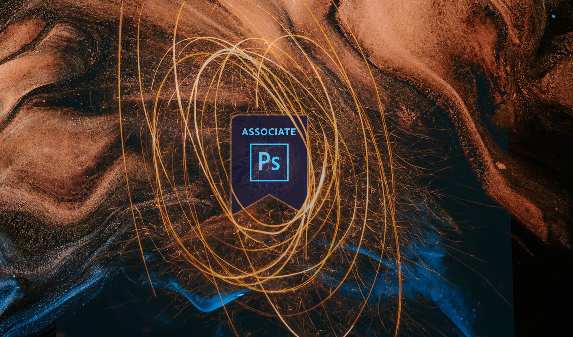 Adobe Certified Associate badge for photoshop
