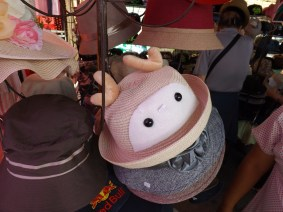 Hats are very popular here in Thailand