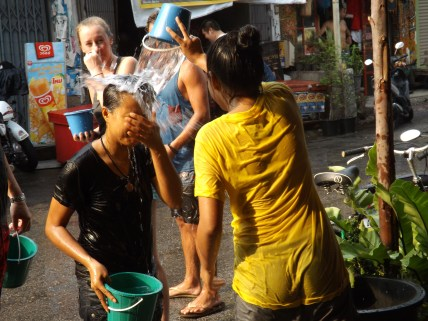 Happy Songkran mum.