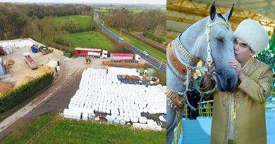 Туркманистон: 1 миллион фунт стерлинг барои роҳи пойга