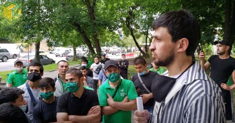 Русия: Муҳоҷири тоҷик ба корпартоӣ даъват намуд