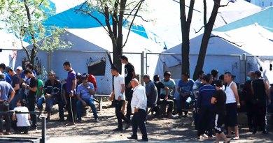 Русия: шаҳрванди Ӯзбекистон дар урдугоҳи хаймаӣ фавтид
