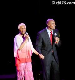 Dionne Warwick and Son @ Jamaica Jazz & Blues 2013