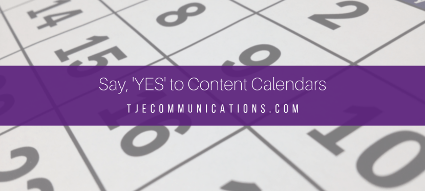 Here's Why You Need Content Calendars