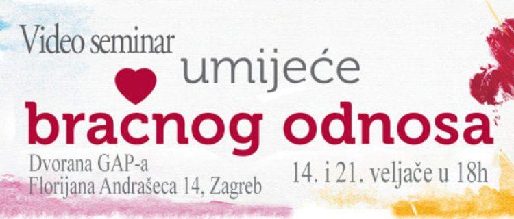 14.2. Video seminar za bračne parove, Zagreb