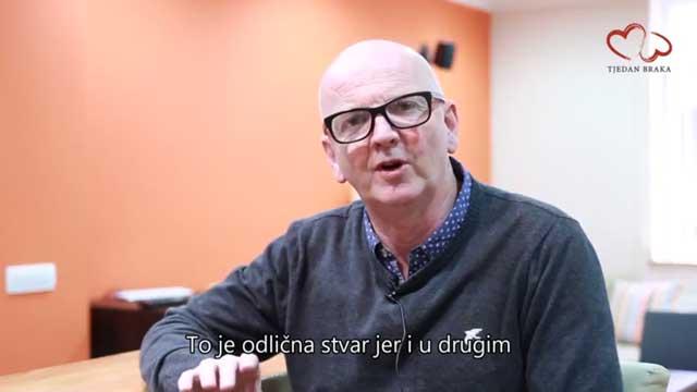Pokretač inicijative Richard Kane (UK) za Tjedan braka u Hrvatskoj