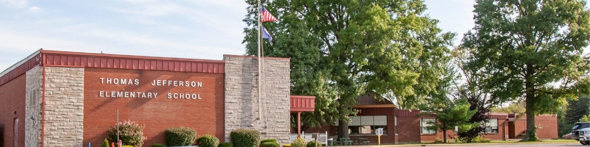 Front of Thomas Jefferson Elementary