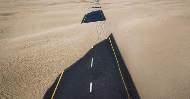 Road Desert.