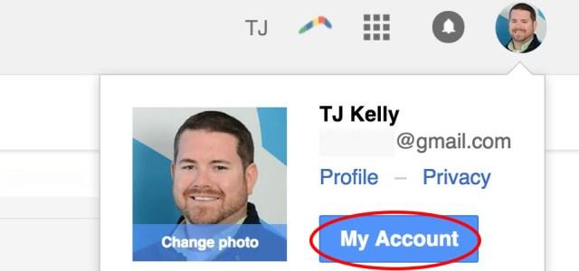 Gmail GoDaddy email forward (11): My account.