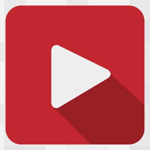 Google 300 Backlinks: YouTube Icon.