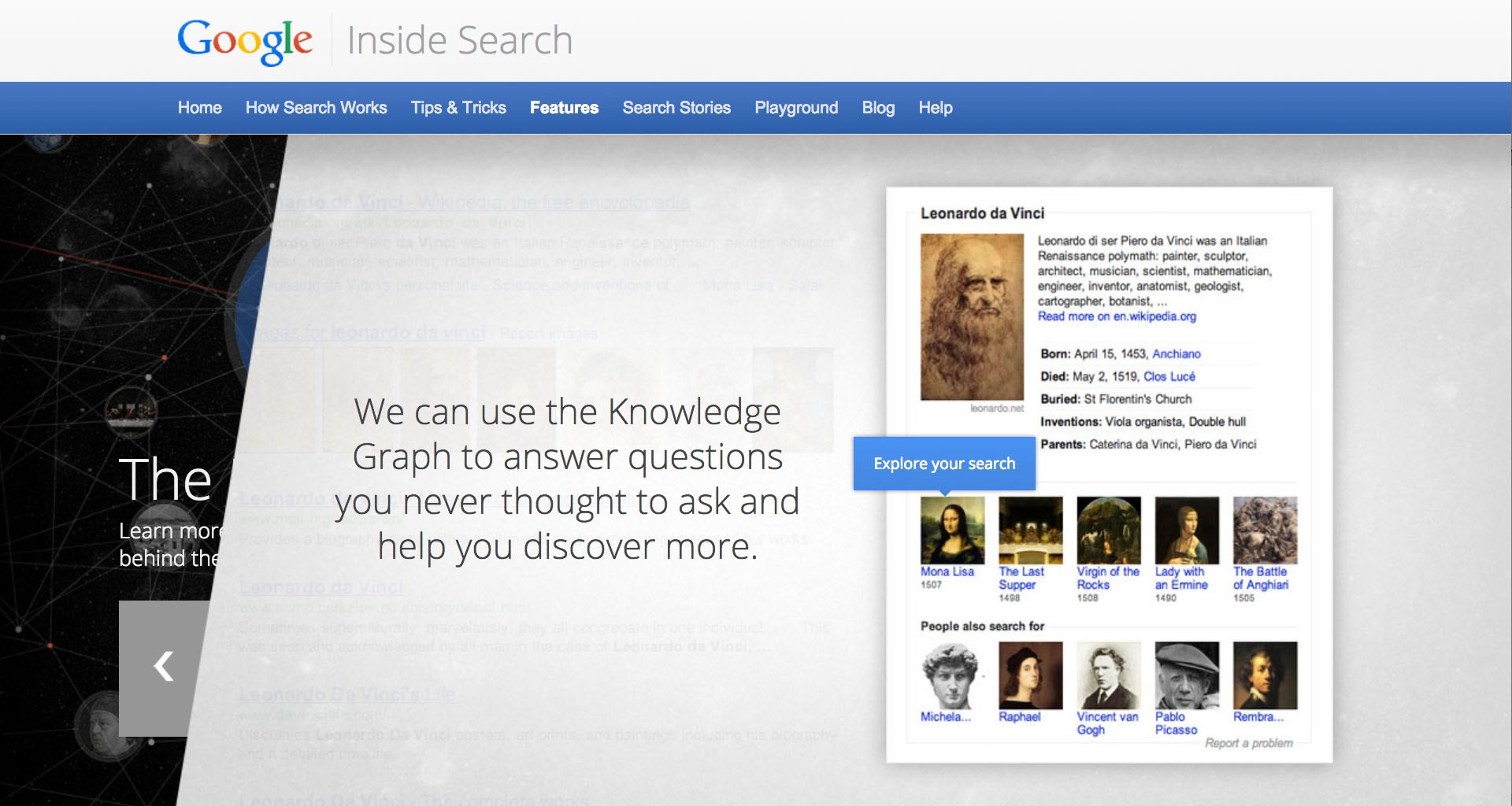Google Knowledge Graph.