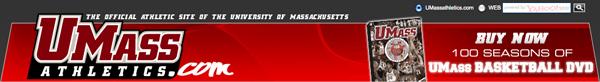 UMass Athletics Website main page masthead flash.