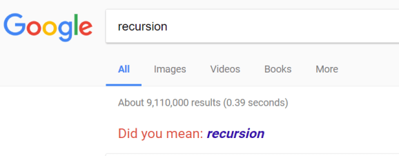 Google search for