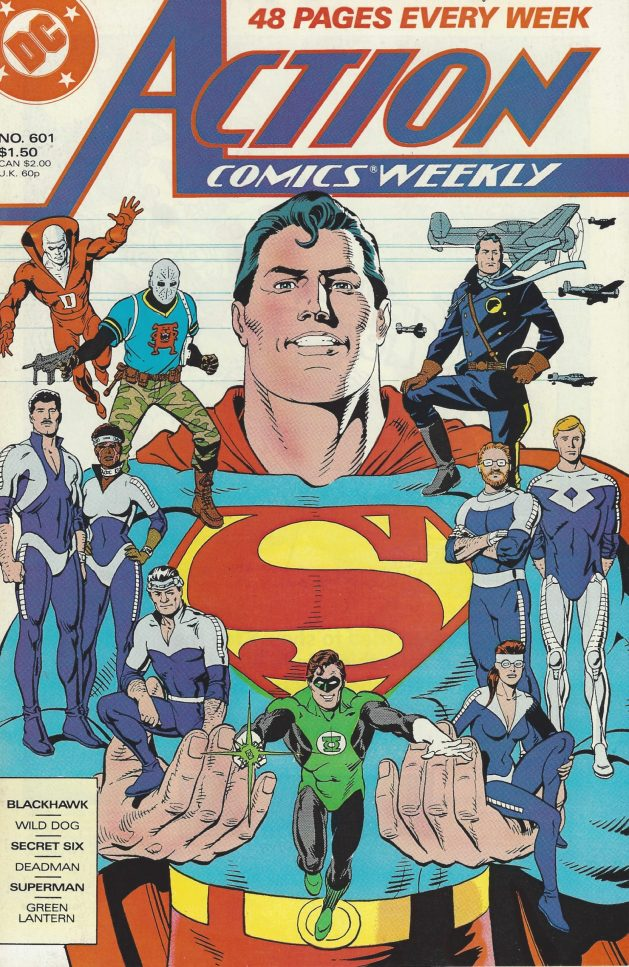 Action Comics Weekly #601 (May 24, 1988). Art by Dave Gibbons.