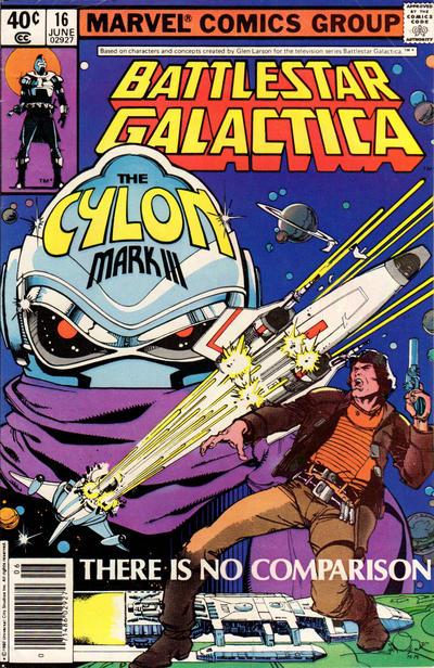 Cover to Battlestar Galactica #16