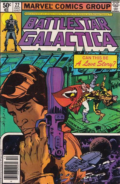 Cover to Battlestar Galactica #22
