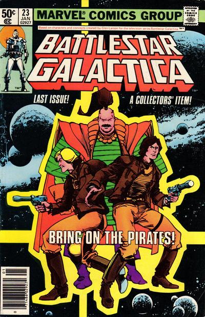 Cover to Battlestar Galactica #23