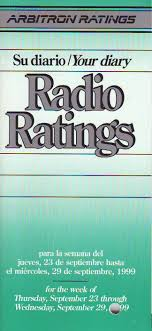 radio ratings diary