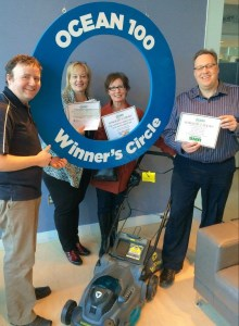 corey Winners circle