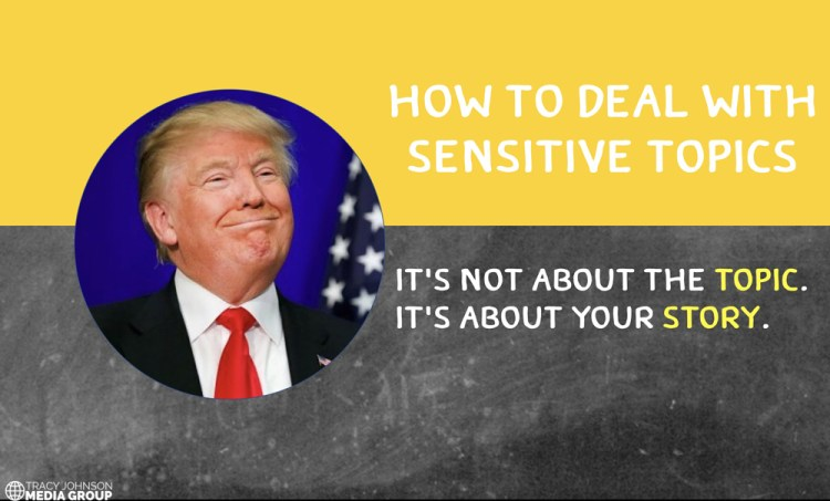 What You Need To Know To Deal With Sensitive Topics [audio]