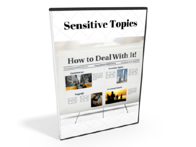 How To Talk About Sensitive Topics Seminar on Demand