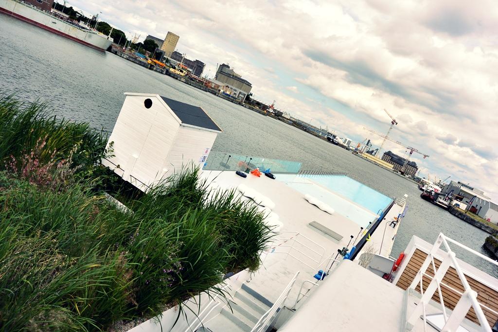 Staycation in Antwerpen - badboot
