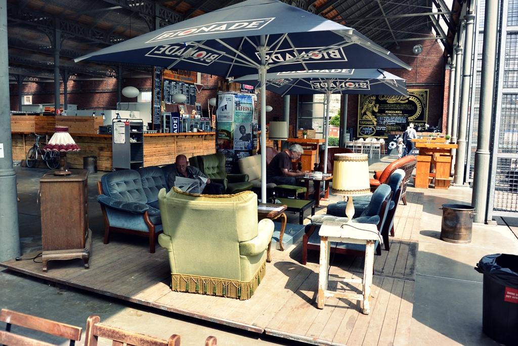 Staycation in Antwerpen - park spoor noord