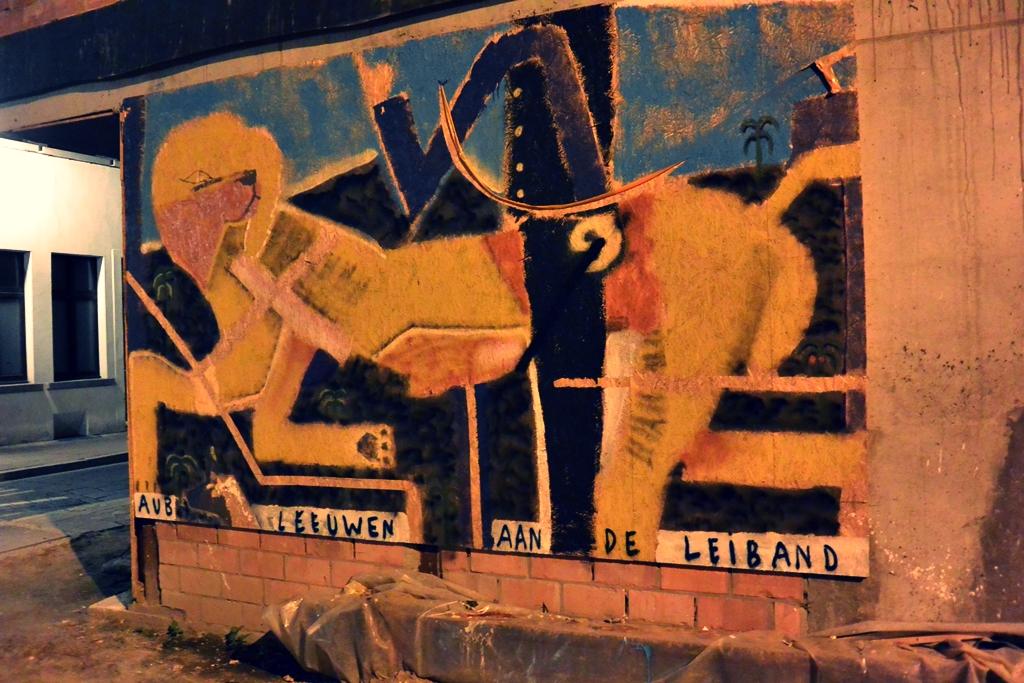 Staycation in Antwerpen - Tjoolaard - street art