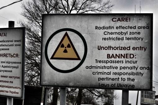 Entering Tsjernobyl