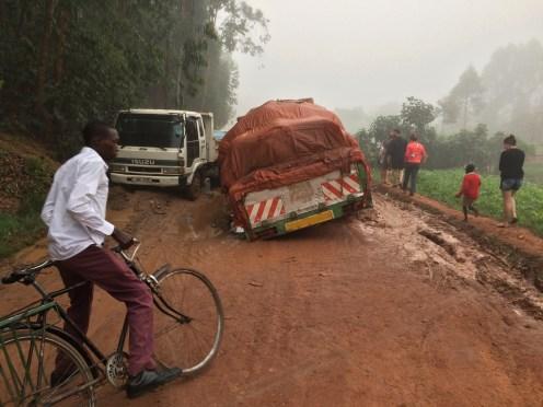 rijden in afrika
