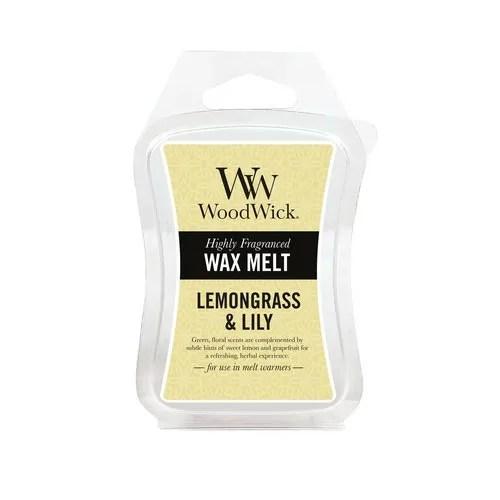Tjooze - WoodWick Lemongrass & Lily - Waxmelt