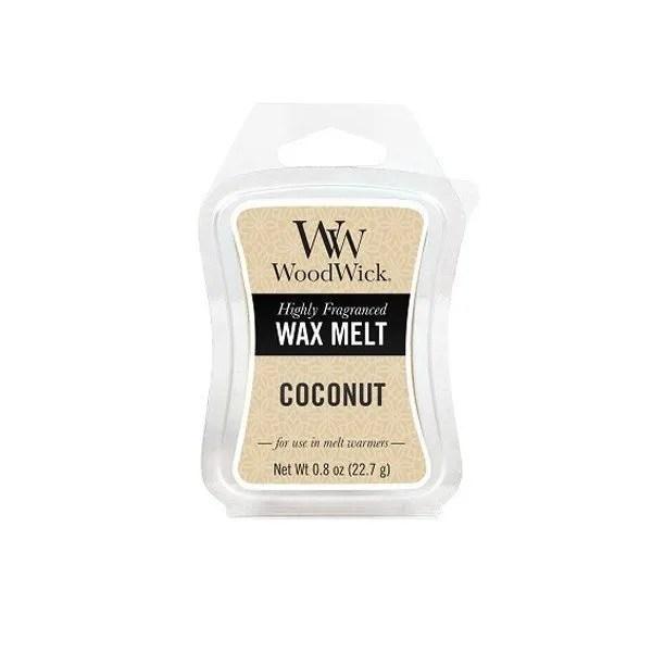 Tjooze - Woodwick Wax melt - Coconut