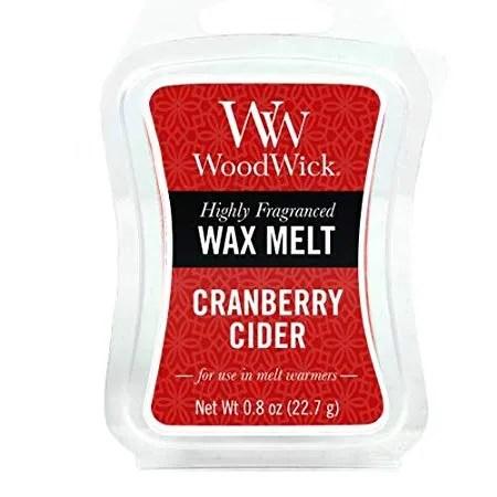 Tjooze - Woodwick wax melt - Cranberry Cider