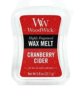 Tjooze - Woodwick wax melt - Cranberry Cider