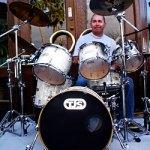 Frank Lang Plays TJS Custom Drums