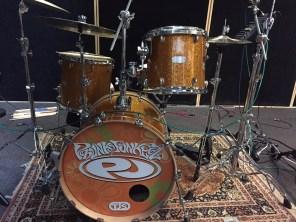 New TJS Custom Drum Set for Phunk Junkeez