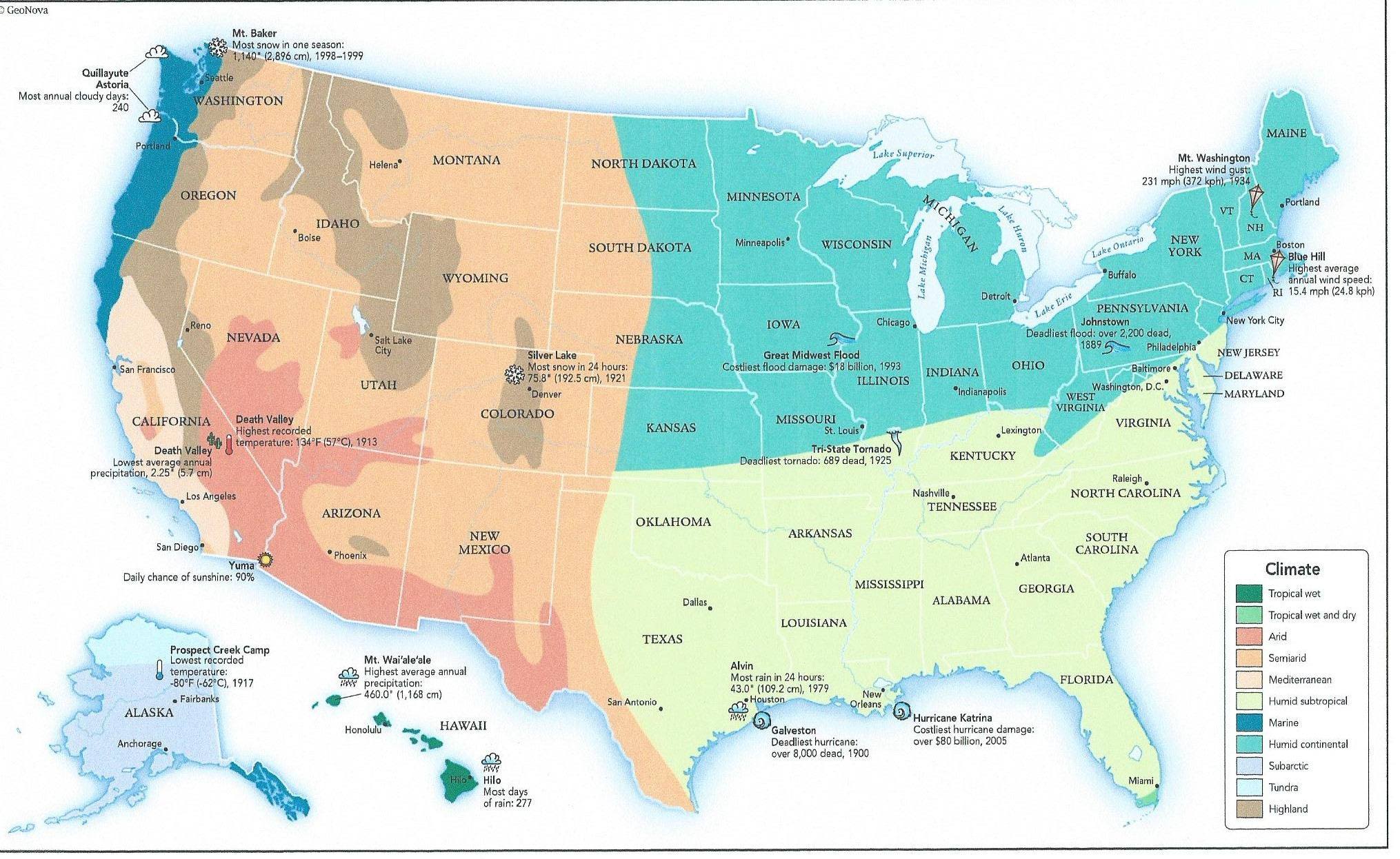 Regional Climate Zone Planting Map For The Us Tjs Garden
