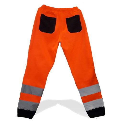 Брюки оранжевые рабочие