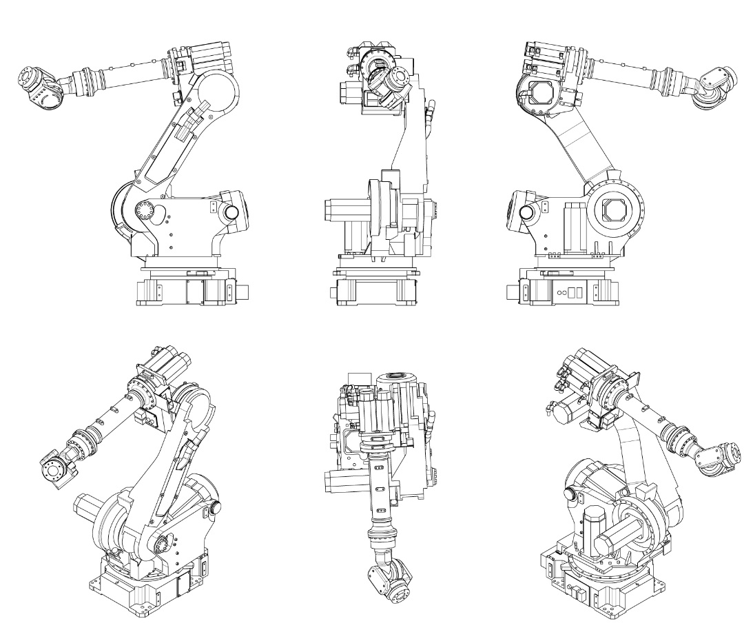 Industrial Robots 3d Solidworks
