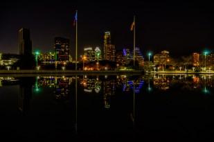 Austin Night Skyline